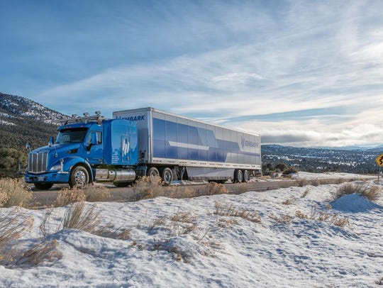 Embark is a self-driving truck company that has been shuttling Electrolux goods in its autonomous trucks between Los Angeles and El Paso and recently completed a cross-country test ride largely in self-driving mode.
