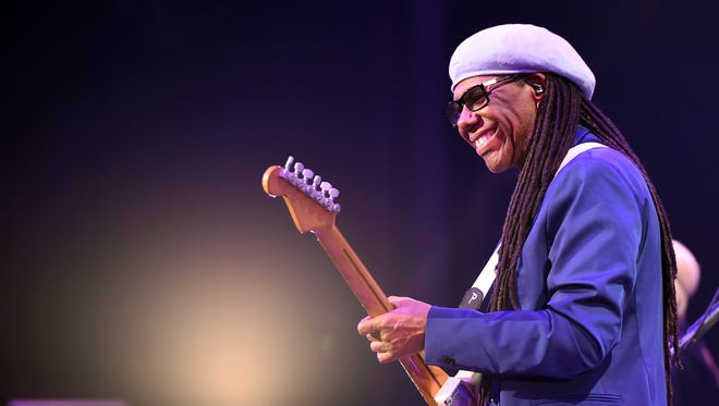 Nile Rodgers will perform with Chic Aug. 15 at Bankers Life Fieldhouse.