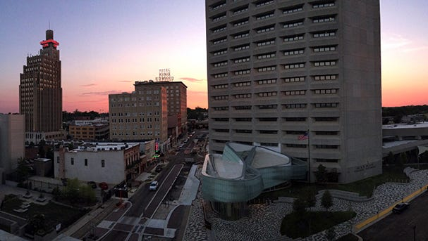 Jackson skyline by Ken Gordon