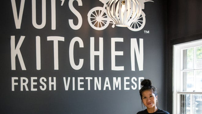 Vui Hunt, founder/chef of Vui's Kitchen and I Love Juice Bar.