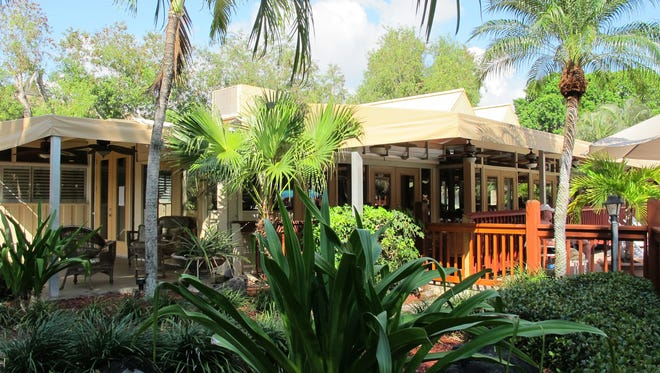 Pate's Island Club restaurant opened March 21, 2016, in the center of Park Shore Resort in Naples.
