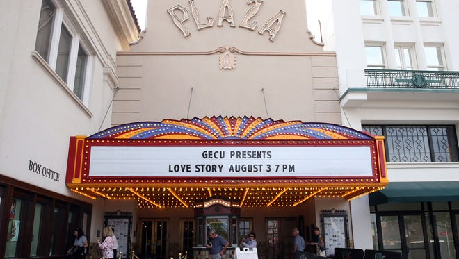 The Plaza Theatre was the scene for a screening of the 1970 film 'Love Story' starring Ali MacGraw and Ryan O'Neal Friday night at the Plaza Classic Film Festival.