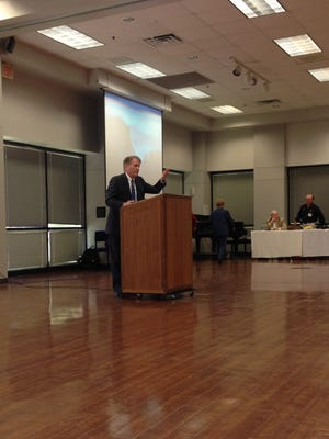 Mike Johnson, president of the North Rapides Business and Industry Alliance.