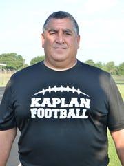 """Kaplan head coach Stephen """"Tank"""" Loteif has a career"""