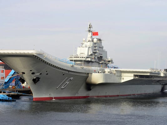 AP FILE - CHINA AIRCRAFT CARRIER I FILE CHN