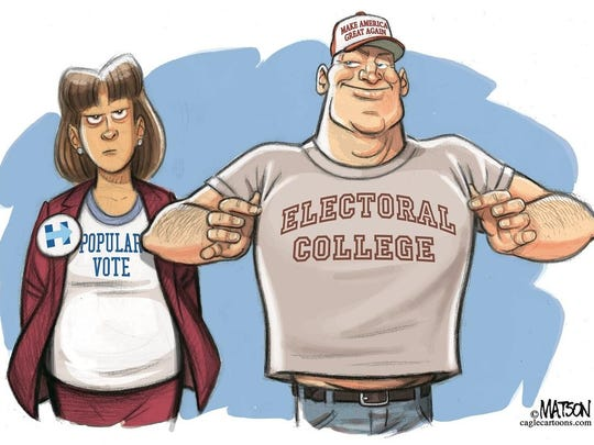 Popular vote vs. Electoral College