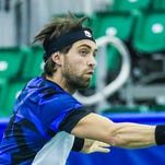Nikoloz Basilashvili upsets No. 1 seed Ivo Karlovic in Memphis Open