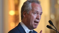 Mayor Greg Fischer announced Monday that Louisville would be filing a federal lawsuit against major opioid companies.