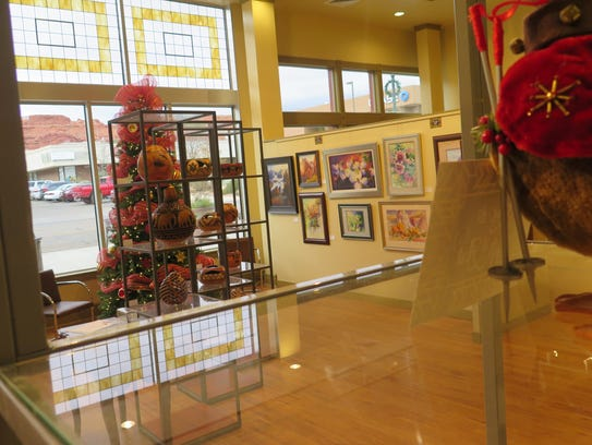 Paintings and other work from the Southern Utah Art