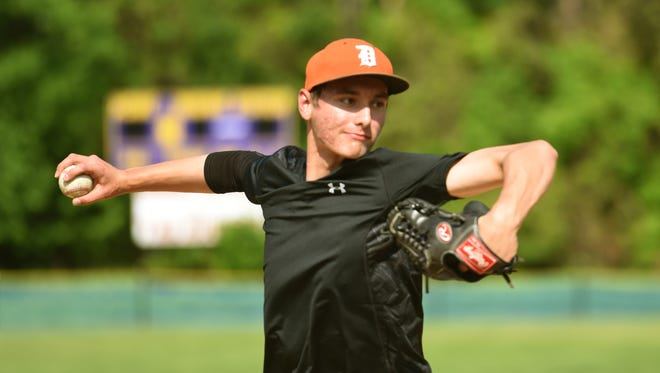 Dumont pitcher Daniel Raglievich helped the Huskies to another big win.