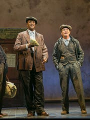 From left, Kevyn Morrow, J. Harrison Ghee and Peter