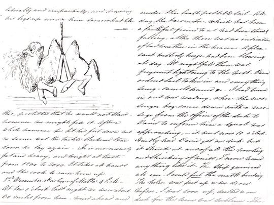 Gwinn Harris Heap, who had assisted in the U.S. Army's procurement of camels, kept this record of the pursuit.