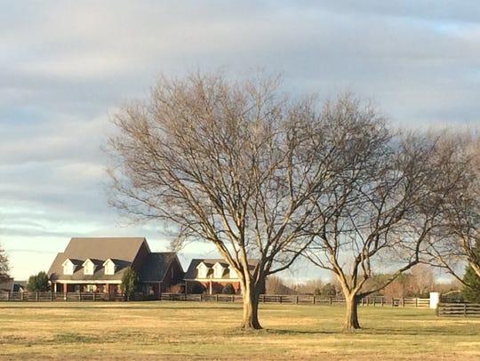 The home at 1737 Twelve Oaks Lane, Murfreesboro, sold