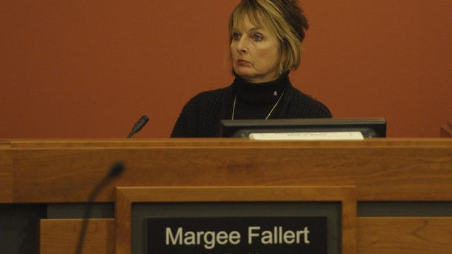 Margee Fallert, deputy city manager, was placed on paid administrative leave on April 27.