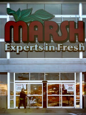 Marsh Supermarkets has announced plans to close 10 more stores, including four in Indianapolis, next month. This is the store at 14450 Mundy Dr., Noblesville,  Wednesday, December 16, 2015. It is not among those closing.