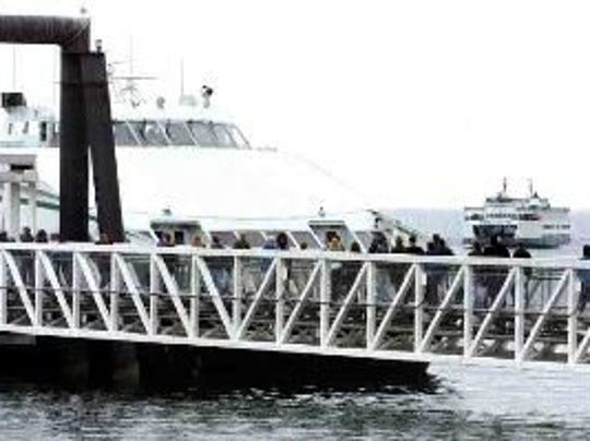 Washington State Ferries operated two passenger-only