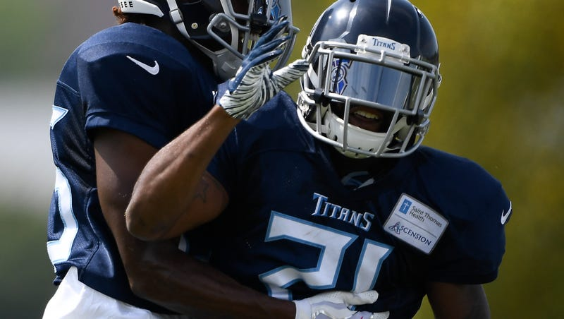 new concept fb1c0 5fdb9 Malcolm Butler, tone-setter of Titans training camp, is ...