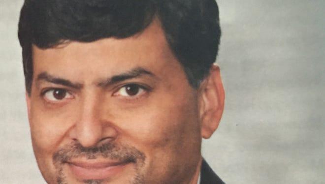 Dr. Mansoor Qureshi, president of the Michigan chapter of the Ahmaddiya Muslim Community