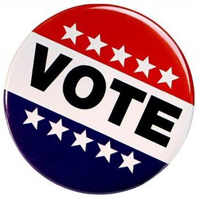 vote ballot sticker