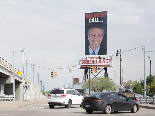 A giant Mike Morse billboard is impossible to miss