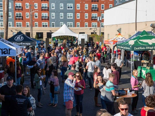 Grainfest returns to the parking lot of Grain Craft Bar + Kitchen in Newark this weekend.