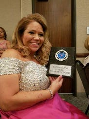 Brooke Acker, 44, of Ingleside was named Mrs. Texas