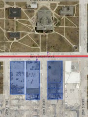 Nelson Development purchased 2.7-acres of land from Drake University earlier this year.
