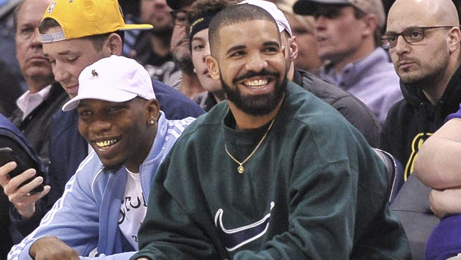 Drake must be all smiles after his new album 'Scorpion's massive debut.