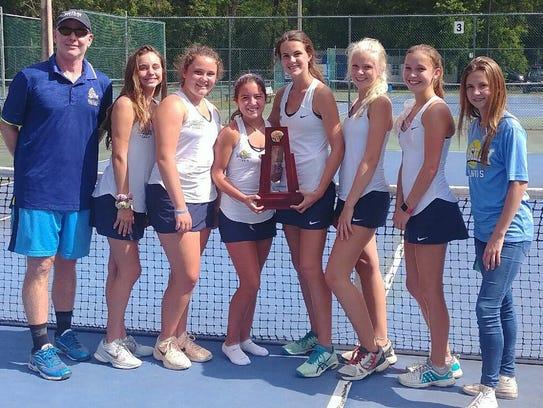 Maclay's girls tennis team captured a District 2-1A