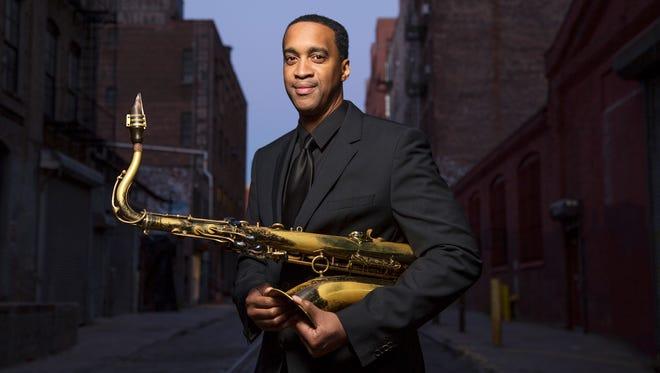 Saxophonist Javon Jackson.