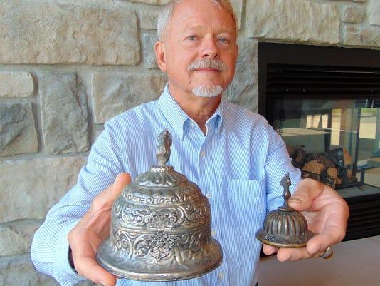 Edgar Hansen with exhibit PR
