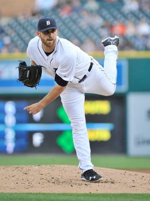Tigers pitcher Matt Boyd pitched five no-hit innings against the Yankees in his last start.