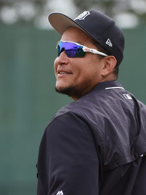 Tigers first baseman Miguel Cabrera appears to have recovered from back issues that bothered him last season.