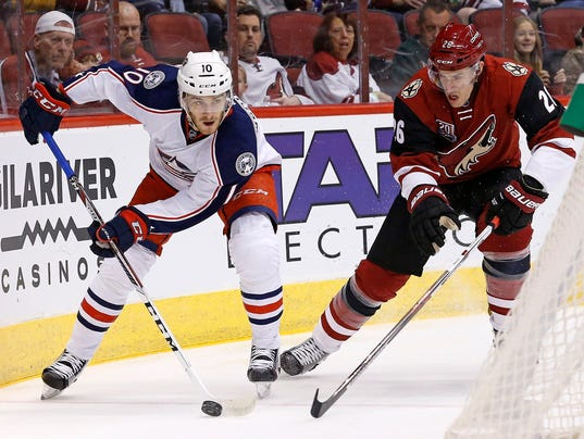 Coyotes vs. Blue Jackets