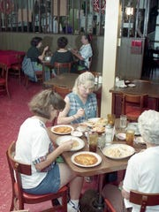 Diners at Old Mexico Restaurant enjoyed their entrees