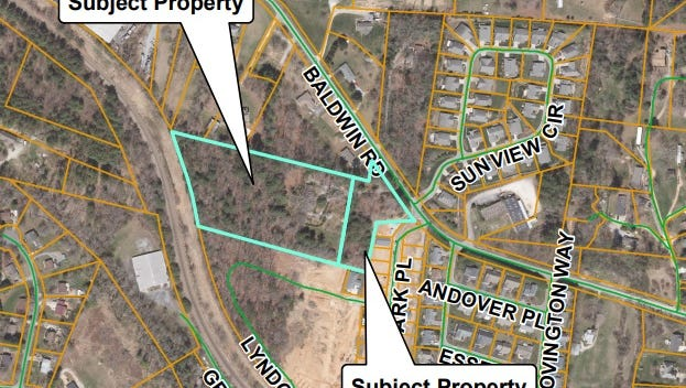 A conditional use permit for a 62-unit townhome development was approved by Buncombe County's Board of Adjustment last week.