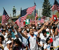 Hispanic growth rate in U.S. lowest on record