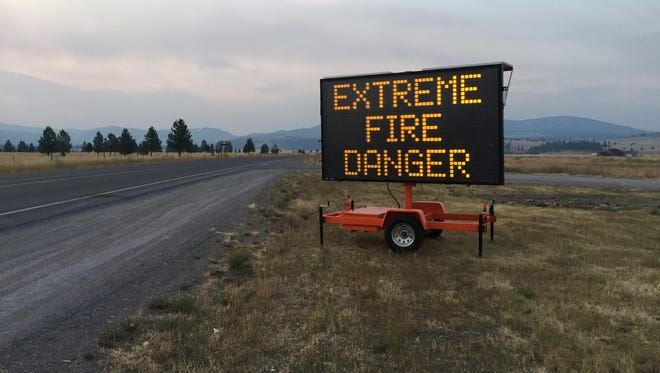 The National Guard has sent 155 troops to help relieve local law enforcement at security checkpoints near Missoula due to the Lolo Fire.