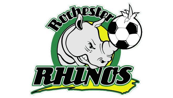 Rochester Rhinos logo.