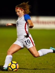 Salem graduate Izzy Rodriguez is in France participating in the 2018 U-20 World Cup tournament as a defender with team U.S.A.