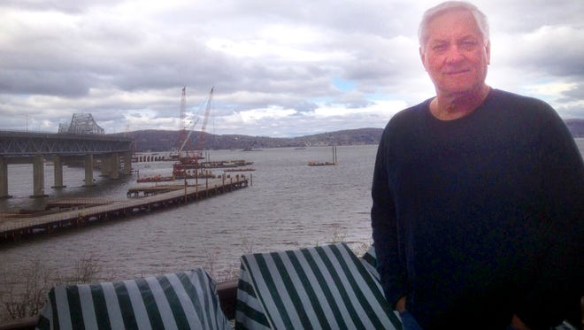 Tappan Landing Road resident Fred Gross at his home on April 23. Gross wants noise-reducing windows and doors from the Tappan Zee Bridge project team