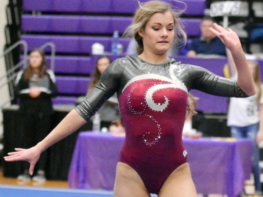 Madison's Jenni Giles capped her outstanding high school