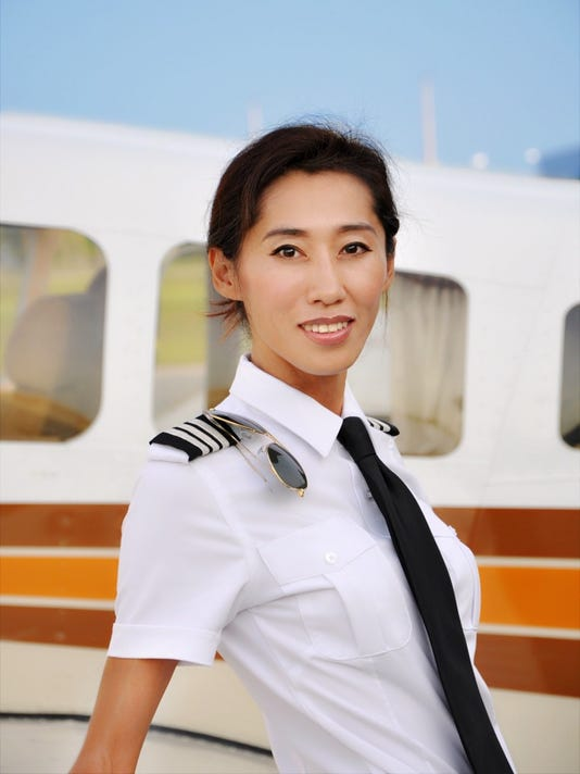 Pilot Julie Wang