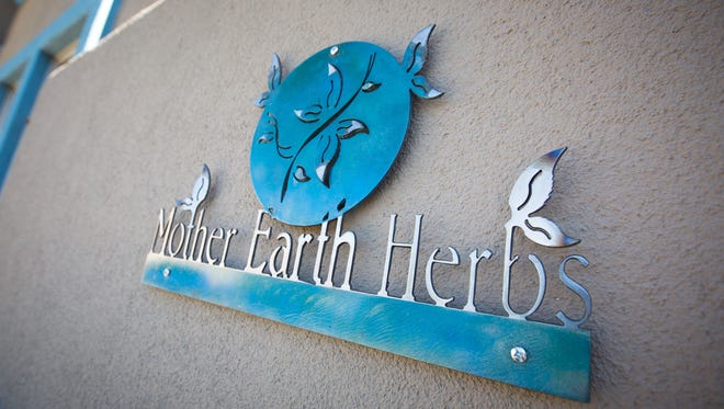 The Mother Earth Herbs medical marijuana dispensary in Las Cruces, June 16, 2016.