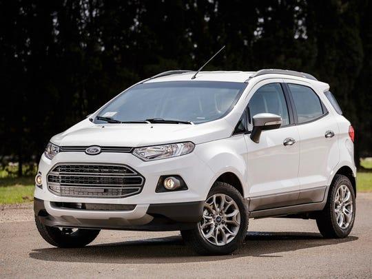 2017 Ford EcoSport, European model