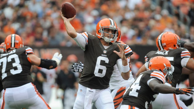 Brian Hoyer is 2-0 as the Browns' starting quarterback.