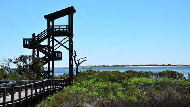 Big Lagoon State Park is in Perdido Key in District 2.