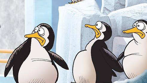 The Detroit Zoo's new penguin exhibit.
