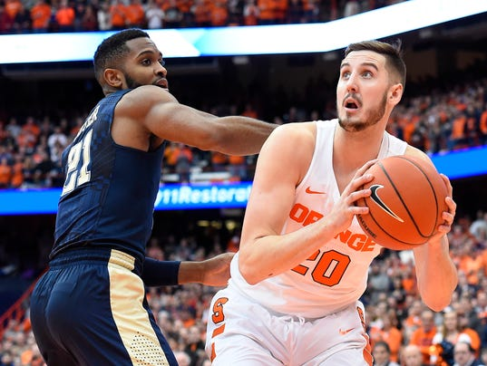 NCAA Basketball: Pittsburgh at Syracuse