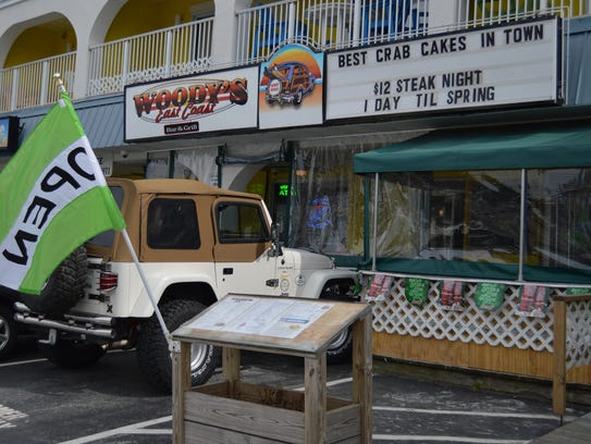 Woody's is one of the eight restaurants participating in Dewey Beach's first restaurant week.
